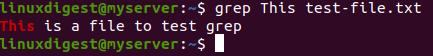 grep This test-file.txt